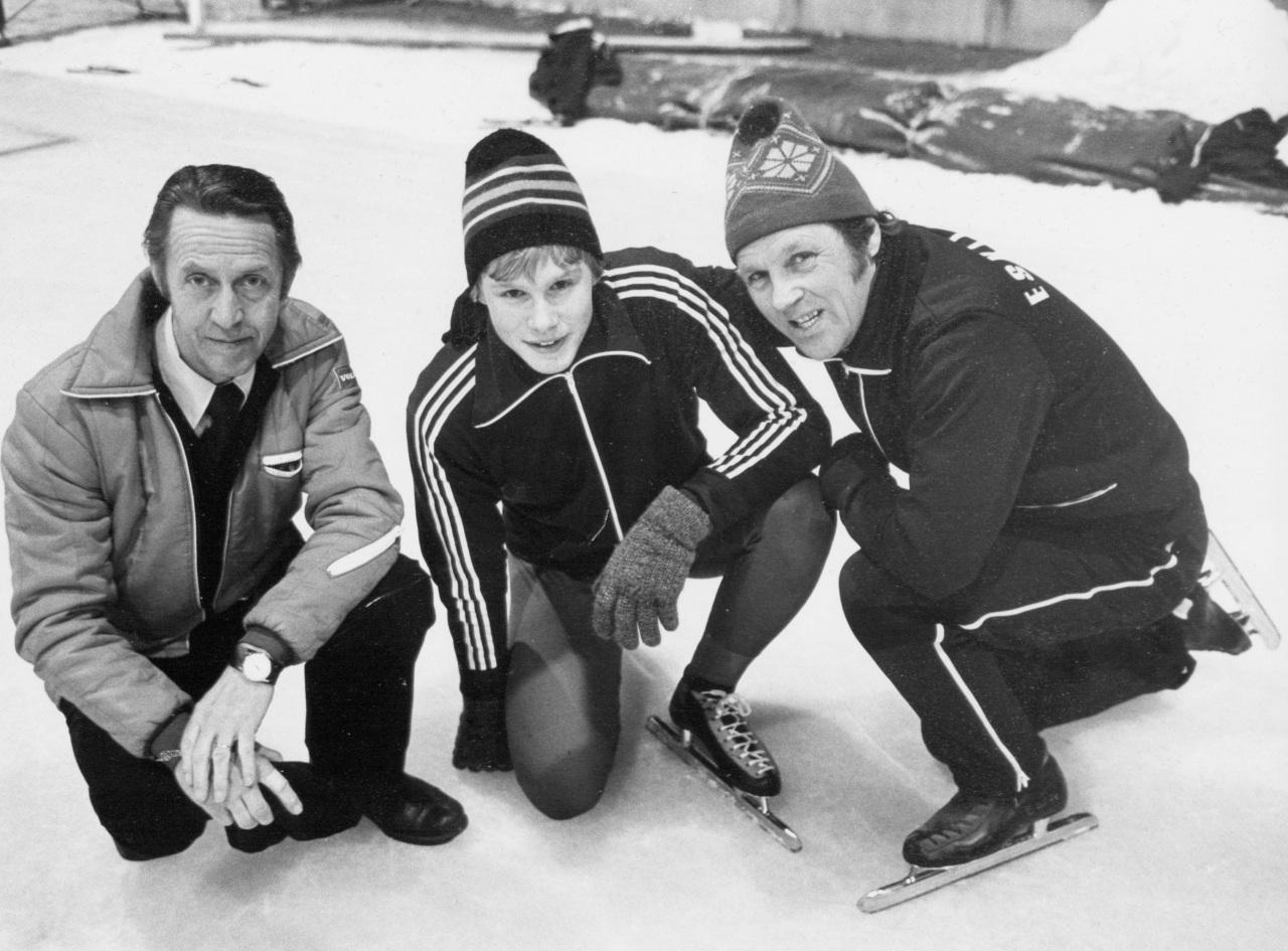 9. Pappa, Gunnar Ström och jag 1978-79
